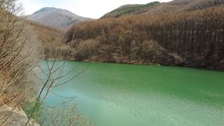 深沢ダム (2016年4月9日)