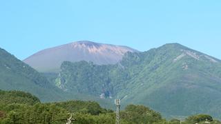 浅間山(2018年6月22日)